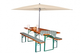 Tisch-Schirm