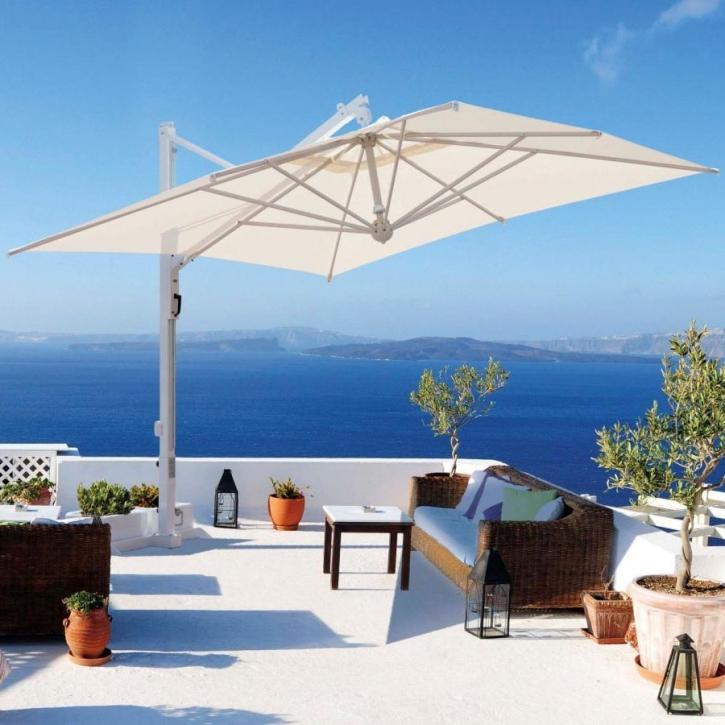 Portofino | Ampelschirm | Set mit Bodenverankerung