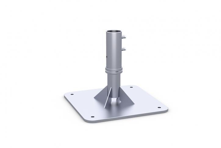 Ankerplatte | May Schattello zum Aufdübeln mit Ankerhülsen-Oberteil