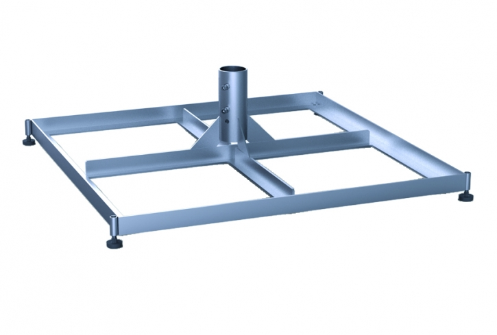 May Standrahmen | für zwei Sätze Betonplatten | Ø 76 mm