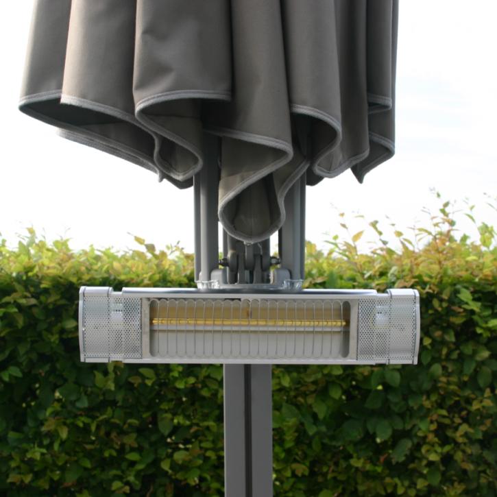 Infrarot-Schirmheizung für 1 Schirmdach | Multischirm