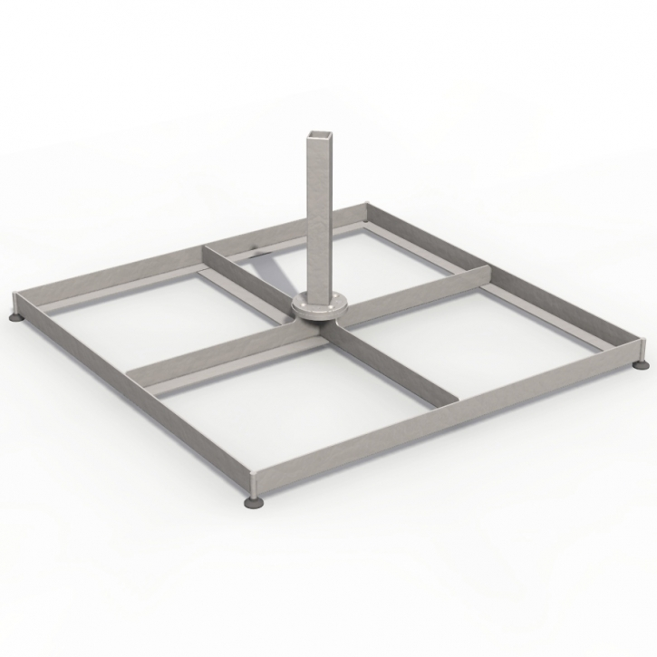 Schirmsockel aus Stahl | Multischirm P6