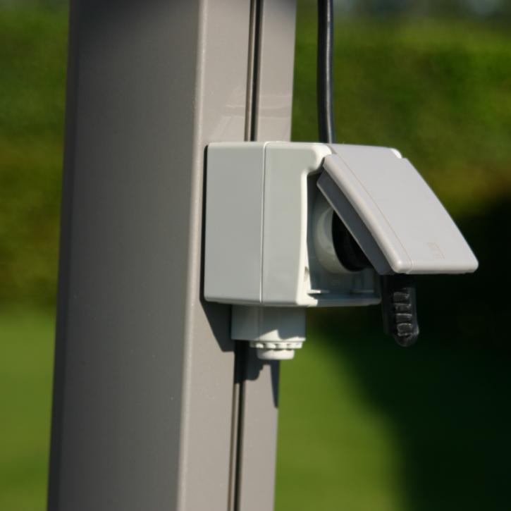 Einfach-Steckdose für Infrarot-Schirmheizung | Multischirm