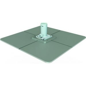Stahlplattenständer mit beschichteten Stahlplatten | BAHAMA Jumbrella