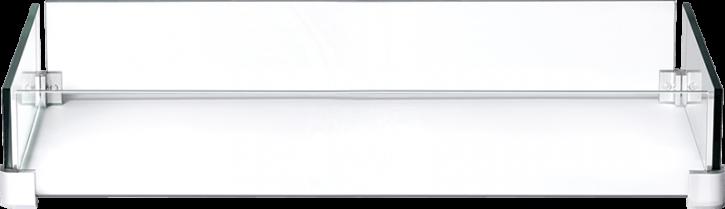 Feuertisch Napoleon Hamptons | Windschutzscheiben-Set aus Glas – rechteckig