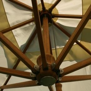 Bambus Side Wind | Ampelschirm | Set