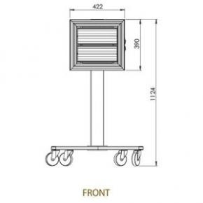 SPOTTER 2 x 1,5 kW